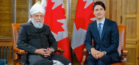 Prime Minister of Canada receives Head of Ahmadiyya Muslim Community in Ottawa